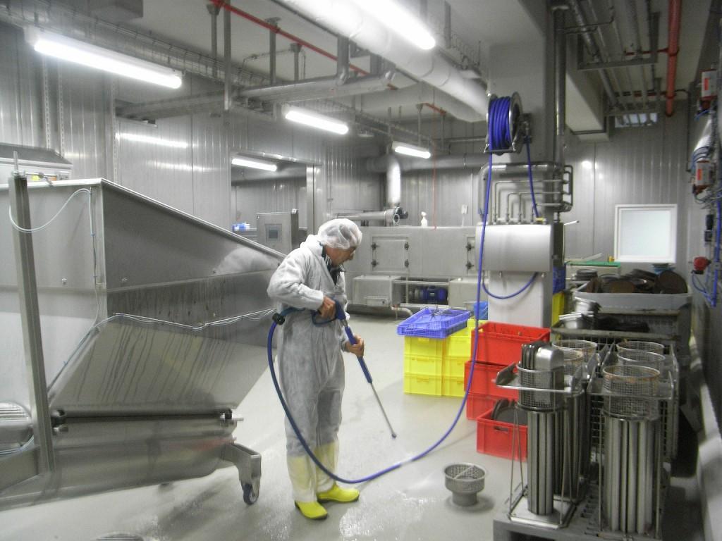 Enrollador acero inoxidable para limpieza a presión