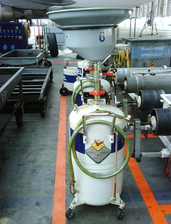 Recuperadores de aceite usado por gravedad