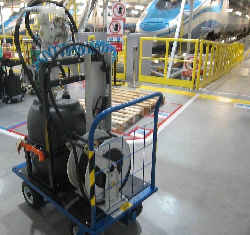 Equipo portátil para suministro de adblue