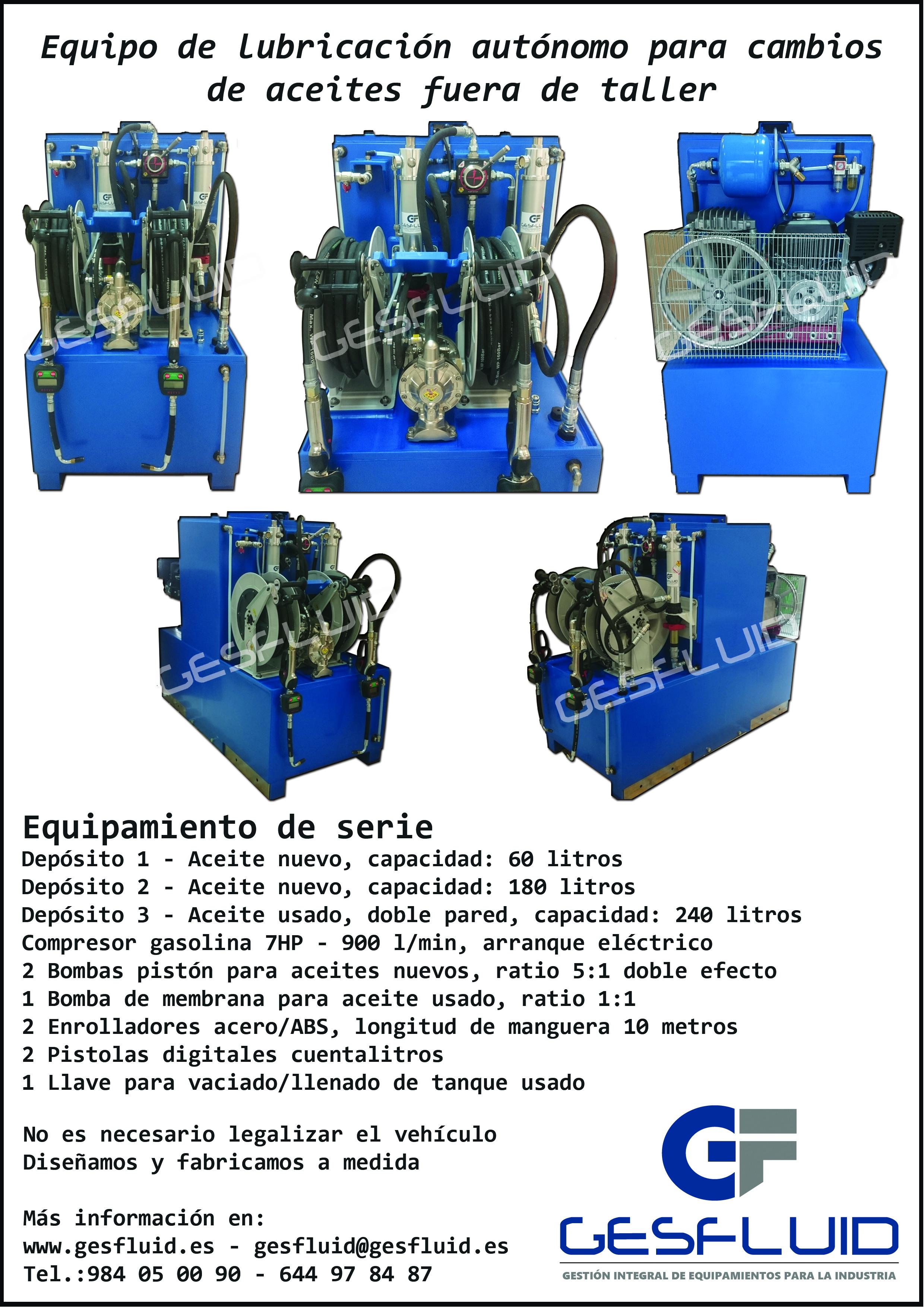 EAML (Equipo móvil de lubricación)